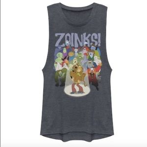 "Scooby-Doo ""Zoinks!"" Monsters Villains Muscle Tee"